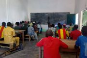 Majowa formacja dla osób niewidomych w Ngaoundaye