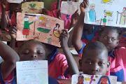 BOŻONARODZENIOWY KONKURS RYSUNKÓW w Afrykańskiej Szkole