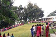 ROZPOCZĘCIE ROKU SZKOLNEGO w Afrykańskim Ngaoundaye